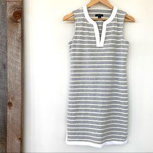 Nautica sleeveless cotton knit midi dress